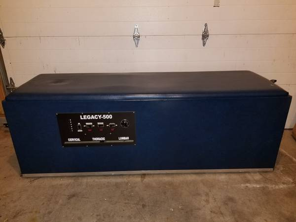 Photo Chiropractic Legacy 500 IST Roller Table For Sale - $1500 (Winchester, Va)