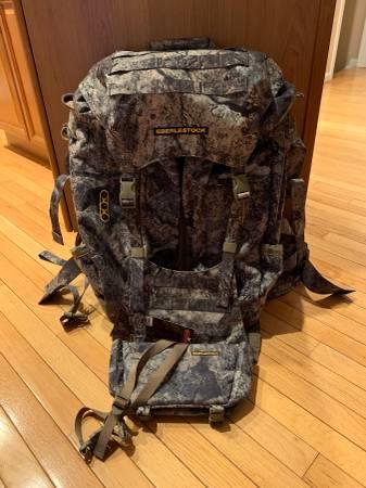Photo Eberlestock JP9 blue widow backpack - $250 (Keedysville)