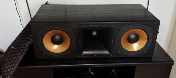 Photo Klipsch Reference RC-7 Center Speaker - $450 (Clarksburg)