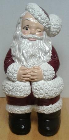 Photo Large Vintage Ceramic Santa - $65 (New Market)