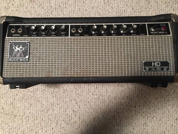 Photo Music Man HD150 Bass Guitar Head - $349 (New Market Md)