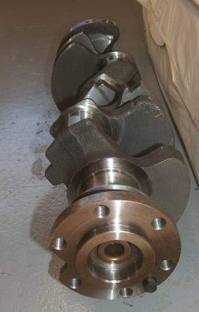 Photo New Old Stock Chevy Forged 283302 SJ Crankshaft - $400