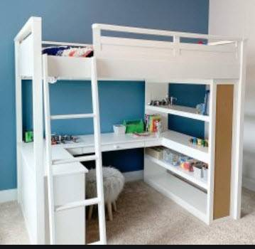 Photo Pottery Barn Kids Loft Bed - $600 (Glenelg)