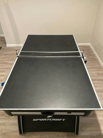 Photo Sport Craft Table Tennis and Air Hockey - $200 (Frederick)