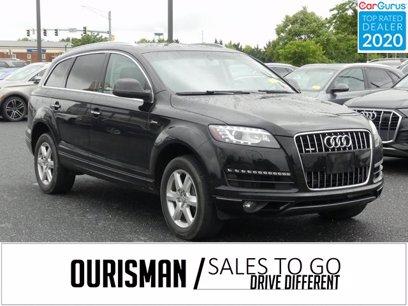 Photo Used 2015 Audi Q7 3.0T Premium Plus for sale