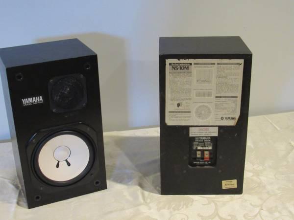 Photo Yamaha NS-10 Speakers  Monitors - $400 (Frederick)