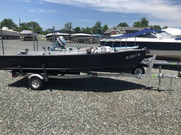 Photo 14 ft Starcraft Boat w25 hp motor - $1000 (Stafford)