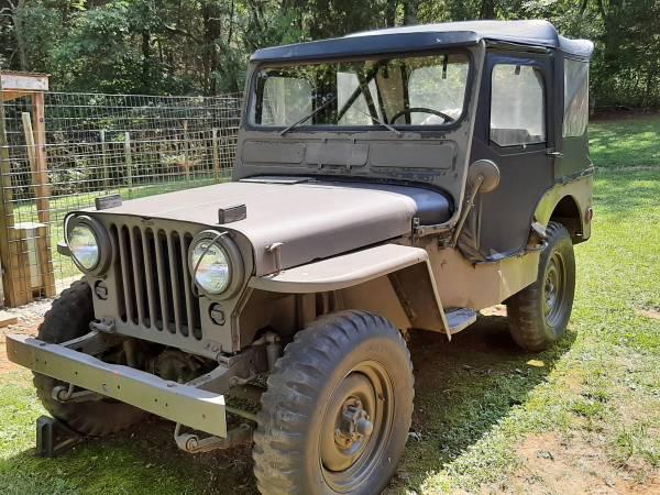 Photo 1952 M38 Willys Military Jeep (Botetourt County)