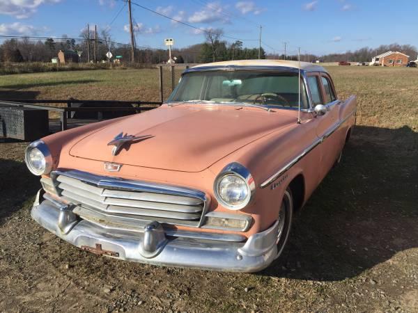 Photo 1956 Antique Chrysler Windsor Beautiful Condition - $4000 (Montross)
