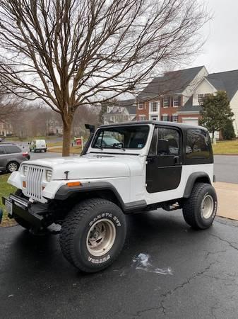 Photo 1994 Jeep Wrangler S Sport Utility 2D - $6000 (Manassas, VA)