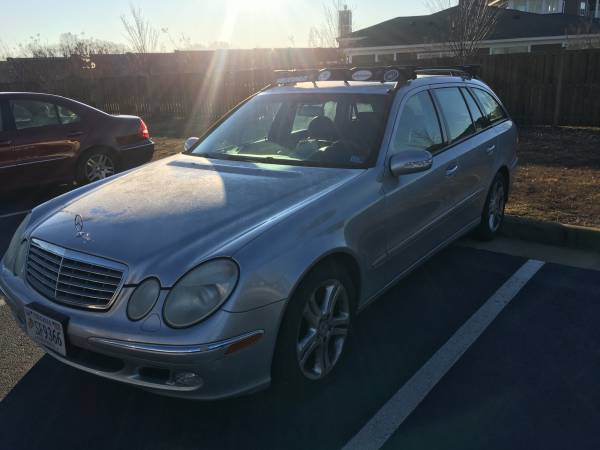 Photo 2004 Mercedes Benz E500 Wagon - $1800 (Fredericksburg)