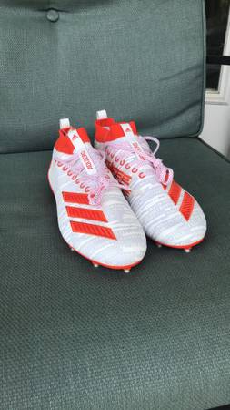Photo Adidas adizero 8.0 football cleats Size 12M - $45 (Fredericksburg)