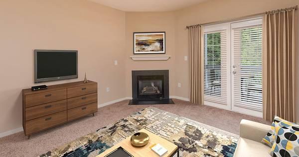 Photo Beautiful apartment with wood like flooring  real granite countertops (Central Park, Fredericksburg)