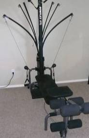 Photo Bowflex Power Pro XTL Home Gym w leg attachment, etc. - $175 - (obo) (Fredericksburg)