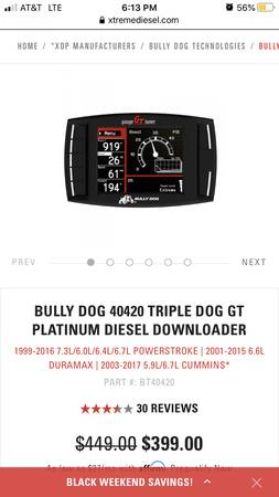 Photo Bully dog programmer diesel ford Chevy dodge - $100 (Woodford)