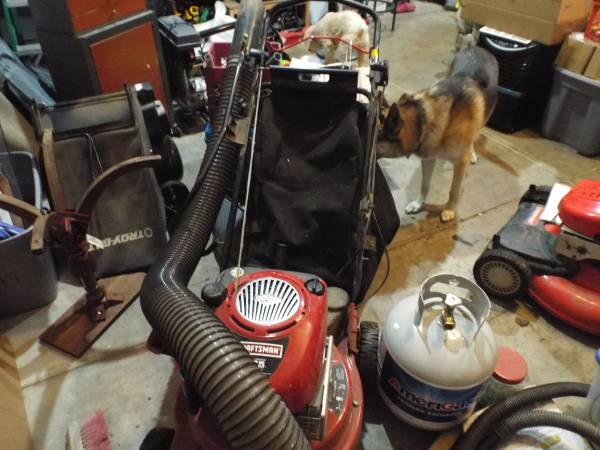 Photo Craftsman Power Propelled Yard Vacuum - $400 (Spotsylvania)
