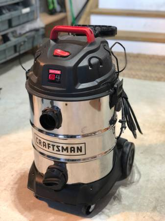 Photo Craftsman Stainless Shop Vacuum - $40 (Stafford Courthouse)