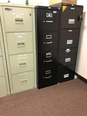 Photo Fire King turtle file cabinets - $300 (Fredericksburg)