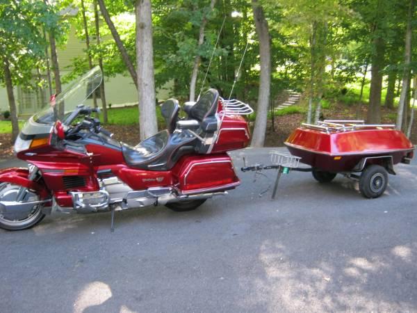 Photo Honda Goldwing with matching trailer - $4,200 (Jeffersonton (near Warrenton VA))