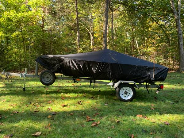 Photo Jon Boat  Trailer  Trolling Motor - $950 (Locust Grove)