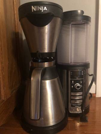 Photo Ninja Coffee Pot for Parts or to be fixed if you handy (Spotsy CgtHgt)