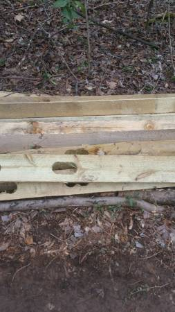 Photo SPLIT RAIL FENCE-Never used - $250 (Locust grove)