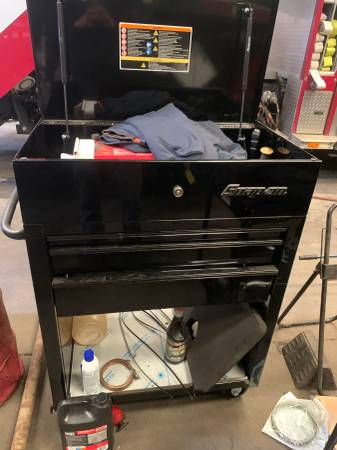 Photo Snap-On 3 drawer tool cart