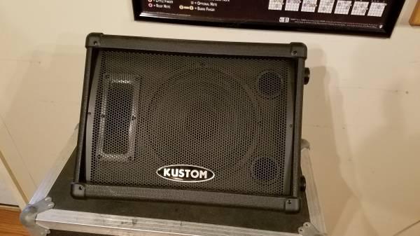 Photo Stage Monitor (Kustom KSC10M) - $25 (Fredericksburg)
