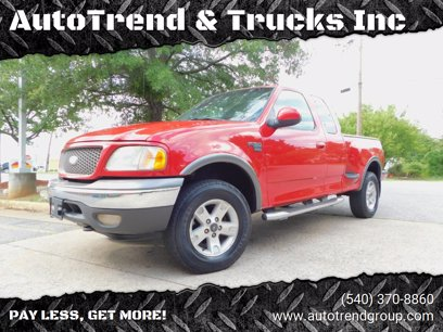 Photo Used 2003 Ford F150 4x4 SuperCab XLT for sale