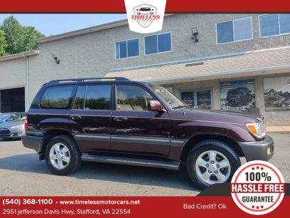 Photo Used 2003 Toyota Land Cruiser  for sale