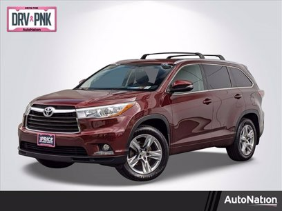 Photo Used 2015 Toyota Highlander AWD Limited V6 for sale