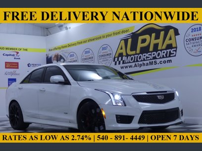 Photo Used 2016 Cadillac ATS V for sale