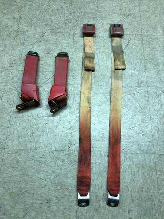 Photo 1967-1972 Chevy C10 C20 C30 Truck or GMC Factory Seat Belts - $49 (Fresno CA)