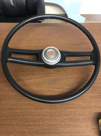 Photo 1971-1978 Dodge Tradesman Van Factory Steering Wheel - $99 (Fresno CA)