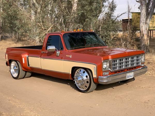 Photo 1977 Chevy Dually C30 Cer Special - $29000 (clovis)