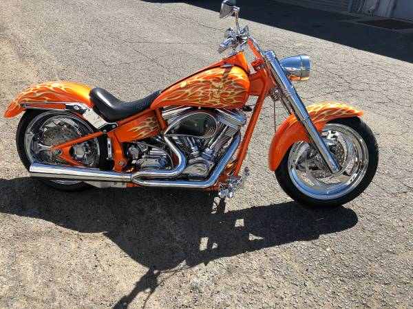 Photo 1998 harley Davidson custom soft-tail over 50,000 invested - $9,999 (clovis)