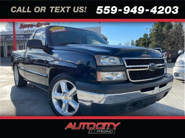 Photo 2006 Chevrolet Silverado 1500 LS Pickup 2D 6 12 ft - $13,500 (_Chevrolet_ _Silverado 1500_ _Truck_)