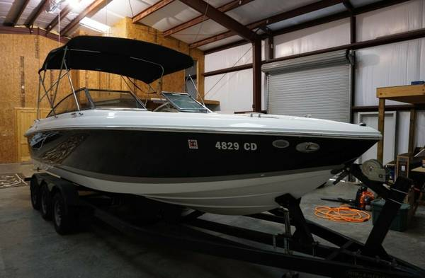 Photo 2010 Cobalt 272 Fresh water boat  Trailer tires and batteries are new - $29998