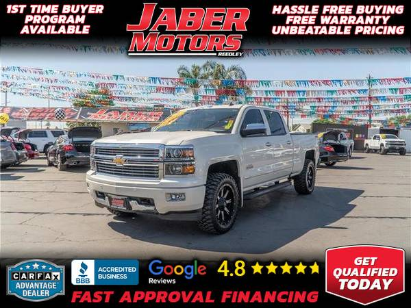 Photo 2014 Chevrolet Chevy Silverado 1500 Crew Cab High Country Pickup 4D 5 34 ft (- ALL CREDIT ACCEPTED - Bad Credit OK)
