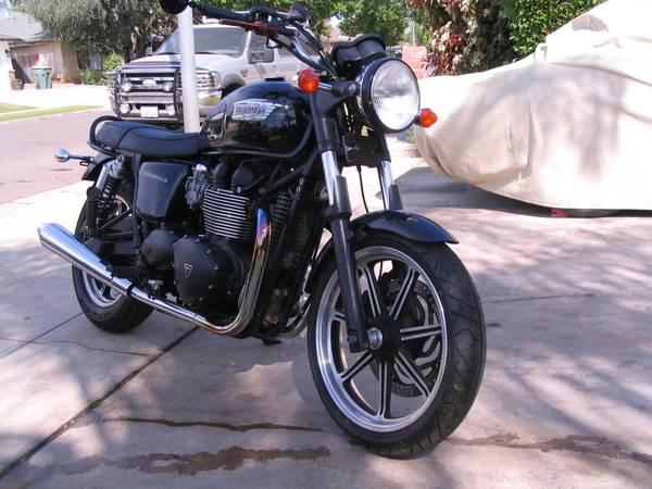 Photo 2014 Triumph Bonneville T100 (SOLD) - $3,950 (Fresno)
