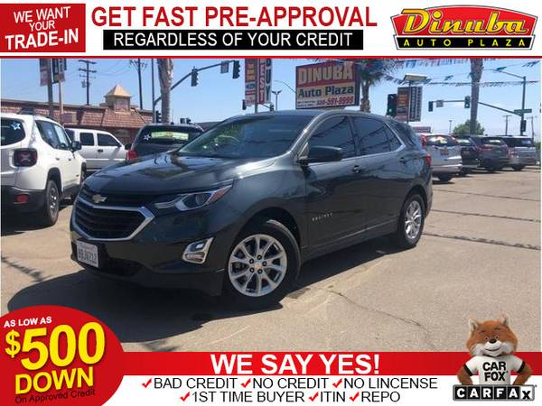 Photo 2018 Chevrolet Chevy Equinox LT Sport Utility 4D (- as low as $500 Down oac -Bad Credit OK)