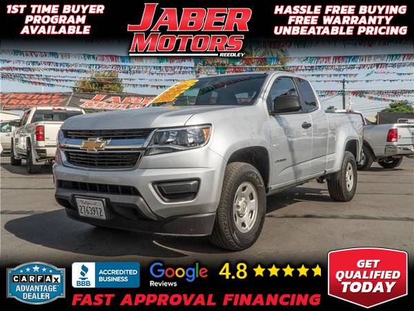 Photo 2019 Chevrolet Chevy Colorado Extended Cab Work Truck Pickup 4D 6 ft (- ALL CREDIT ACCEPTED - Bad Credit OK)