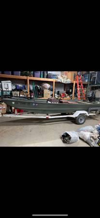 Photo Bass Tracker Bass Boat - $3,000 (Fresno)