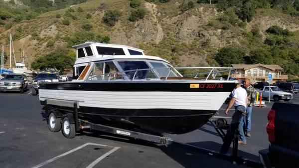 Photo Boat - Crestliner 22ft all Alimunim Sportfisher - $10,000 (Reedley)