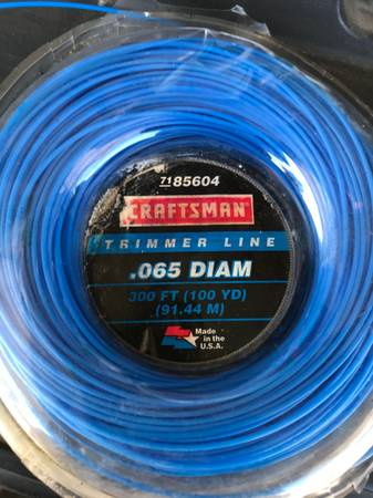Photo Craftsman 300 yard trimming line - $10 (Clovis)