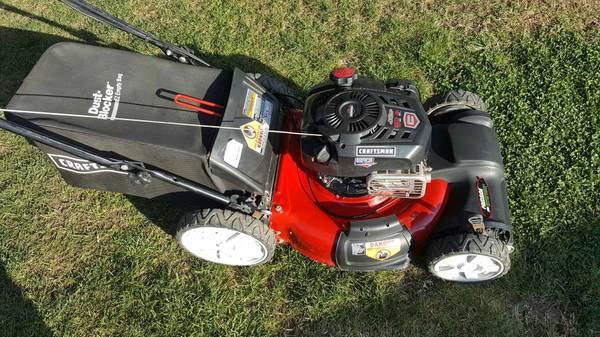 Photo Craftsman precision cut 7.25hp platinum self propelled lawn mower - $240 (Fresno)