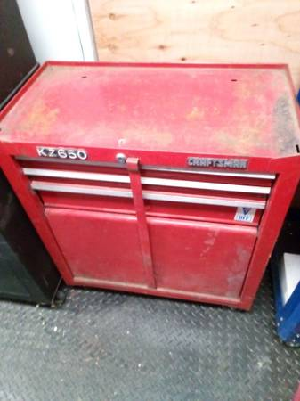 Photo Craftsman rolling tool chest - $50 (Fresno)