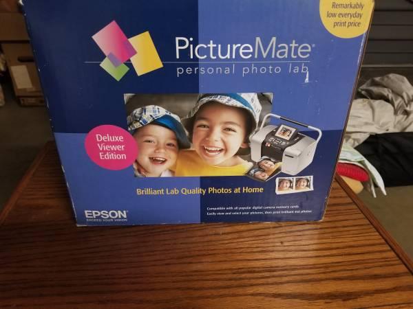 Photo Epson PictureMate Deluxe Digital Photo Printer - $30 (Clovis)
