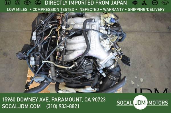 Photo JDM 96-2004 NISSAN Pathfinder Frontier Xterra INFINITI QX4 VG33 ENGINE - $995 (Paramount)