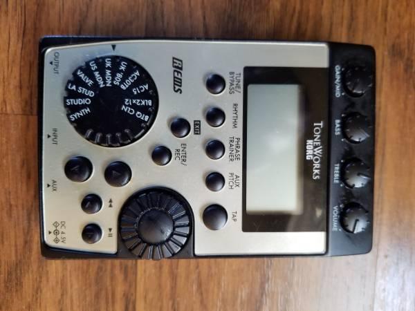 Photo Korg Pandora Guitar Effects Processor - $25 (Fresno)
